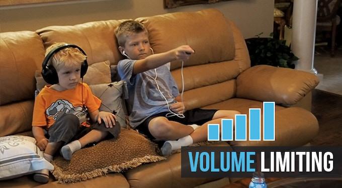 Volume limiting helps make headphone listening safer for kids.