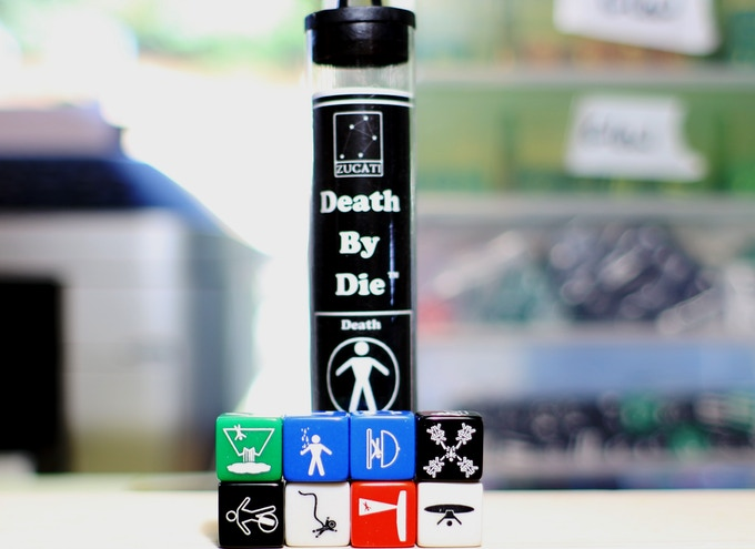 Death and Dismemberment  - Dice Colors are Random