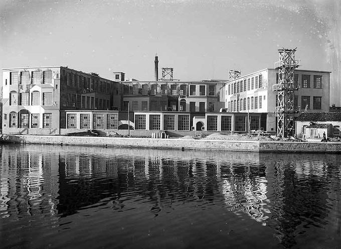 Archivio Giacomelli - Junghans industrial area in Giudecca, Venice