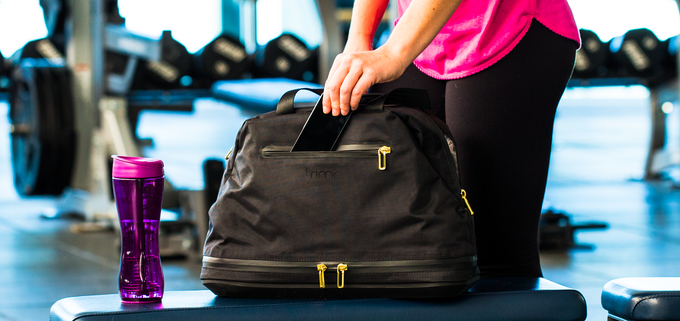 d6efb3cbef6d The All-In Gym Bag  Separate your dry and wet gym clothes. by Trimr ...