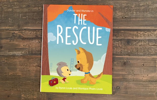 """The Rescue"" hardcover book"
