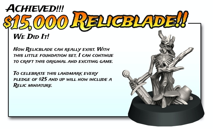 OH SNAP! I love you guys. Free Relics for everyone!!! (almost)