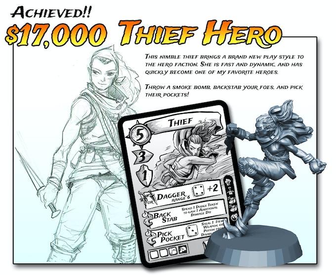 "Rad new hero. Free with ""Bold Adventurer"" Pledge ($89/$99) or more!"