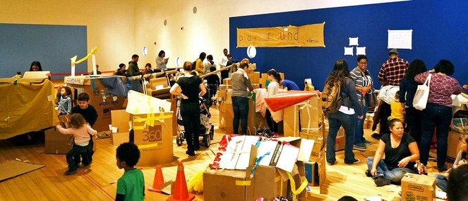 play:ground in residence at The Brooklyn Children's Museum