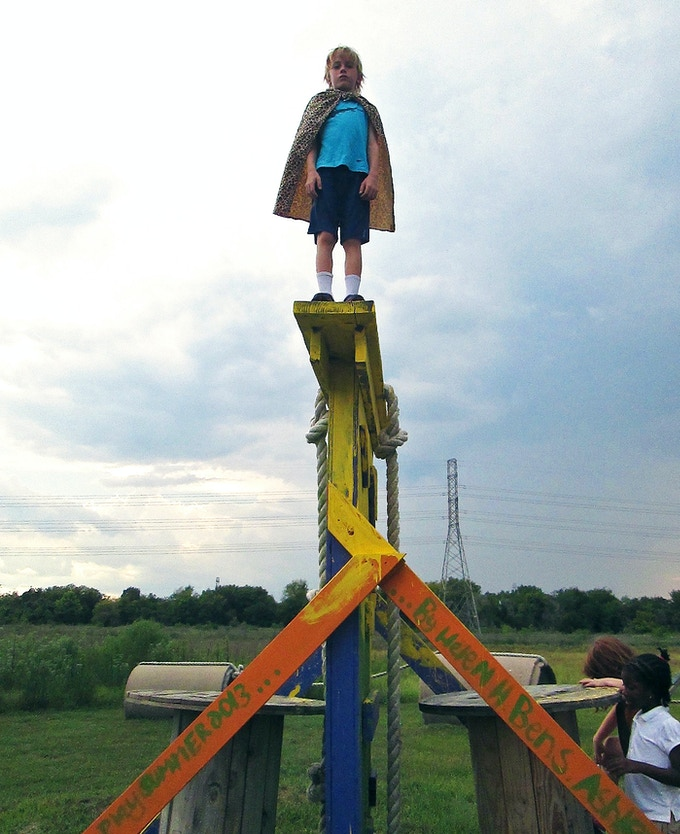 Adventure Playground at The Parish School, Houston, TX