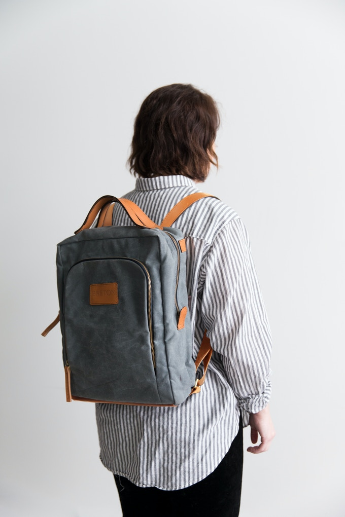 Small Size Bag - Model is 5'2""