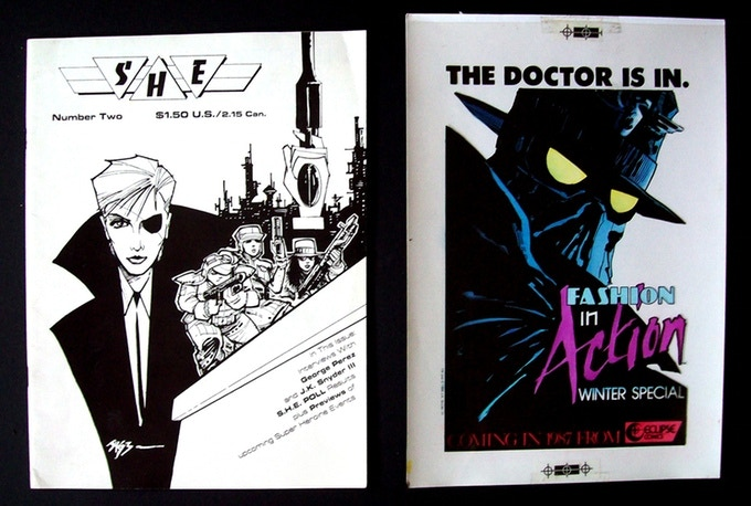 Original advertisements that will be included in the collected edition