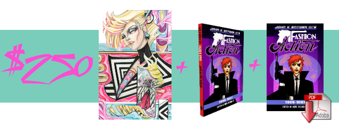 1 Guest Art, 1 Hardcover, 1 E-Book