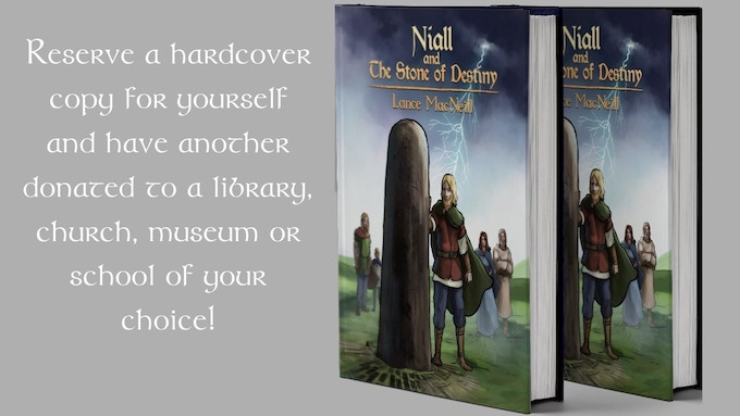 Reserve a hardcover copy for yourself and have another donated