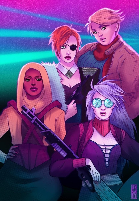 Jen Bartel's version of Fashion In Action