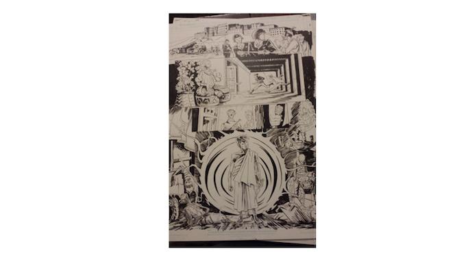 example - Karma Police original art (standard), by Tony Gregori