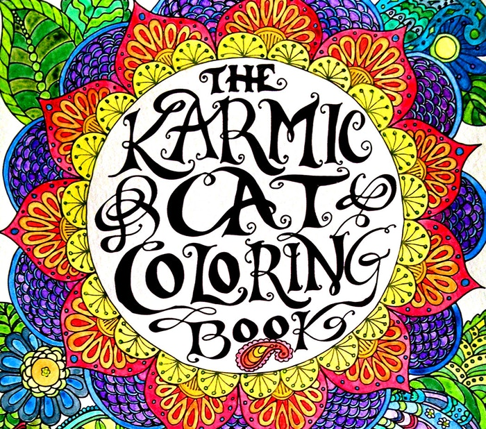The Karmic Cat Coloring Book by Suzanna Roberts — Kickstarter