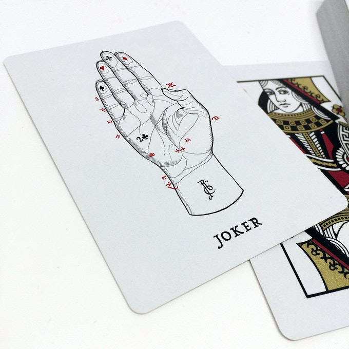 joker with reveal card: 2 of clubs
