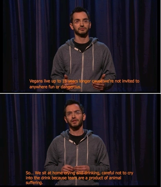 me as a standup comedian on conan