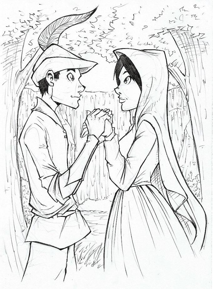 5 Seconds - Detailed Sketch - Robin Hood