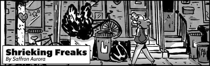Get ready to shriek when high-voltage rock n' roll and the supernatural collide in this slice-of-Toronto-life comic.