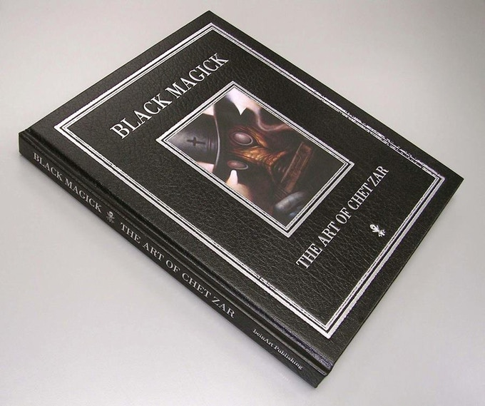 Black Magick: The Art of Chet Zar (Example of DY5TOPIA book quality)
