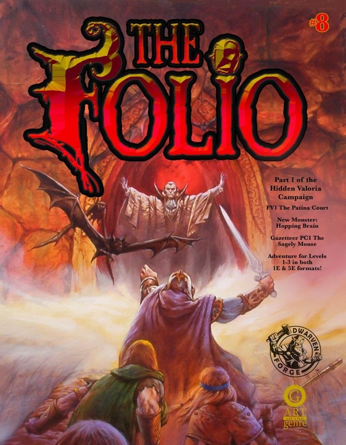 Jeff Easley cover for Folio #8!