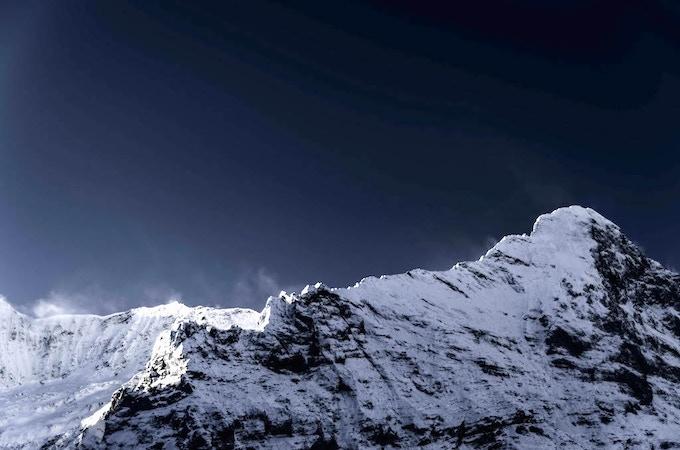 The inspirational Eiger mountain, Switzerland