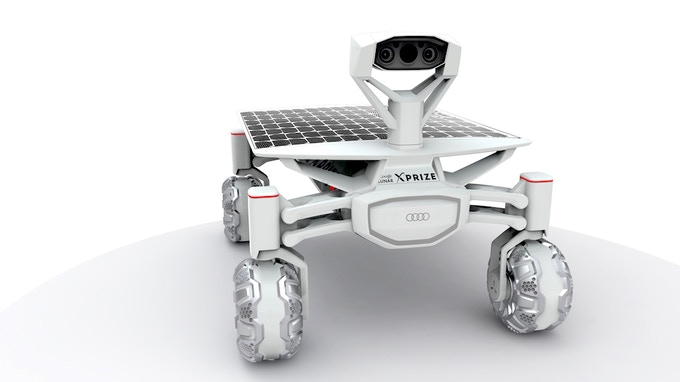 Lunar Rover by PT Scientists Berlin, Germany
