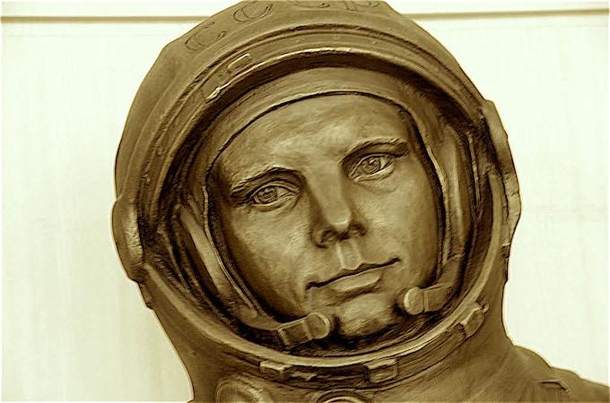 Yuri Gagarin at ISU Campus Strasbourg, France