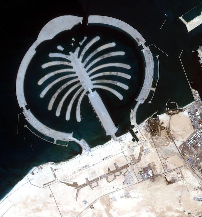 Palm Jumeirah, Dubai, UAE, (courtesy MBRSC)