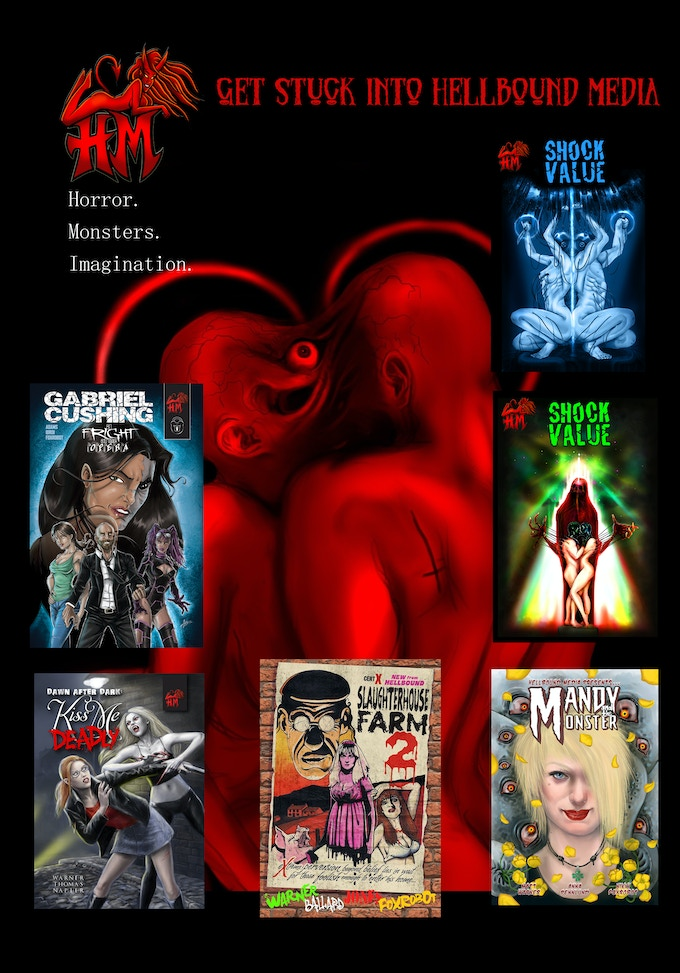 A selection of titles available from Hellbound Media, see the complete collection on our website for details