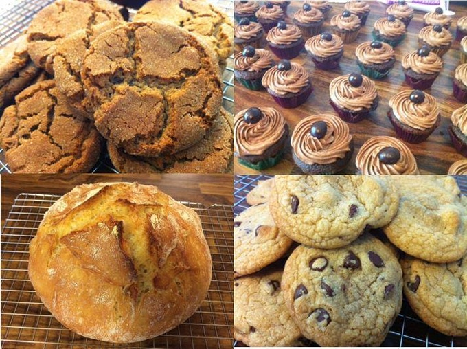 Cookies, Breads, Cakes, and Desserts