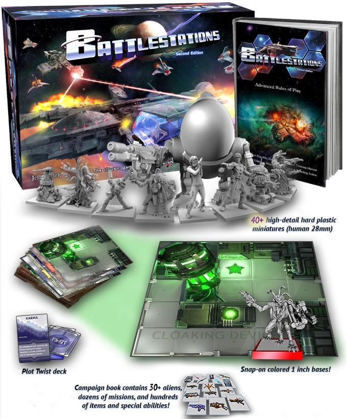 Battlestations: Second Edition! Tabletop Starship Simulator