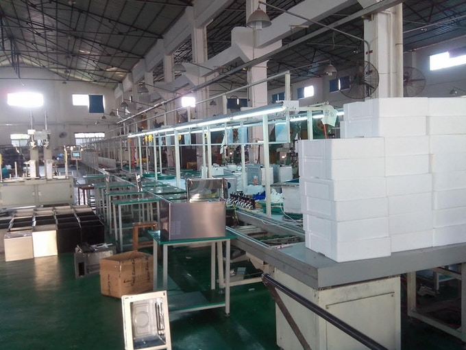 Our manufacturing plant in China