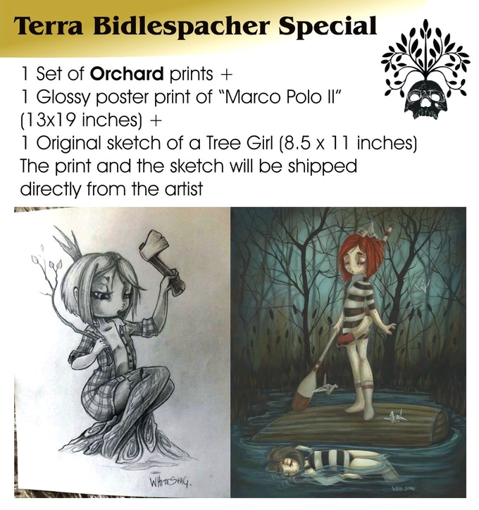 Terra Bidlespacher Special, €110 plus postage, only ONE available