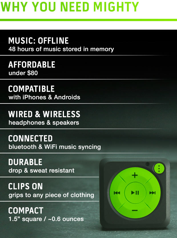 Mighty - Streaming Music Without Your Phone by Mighty Audio