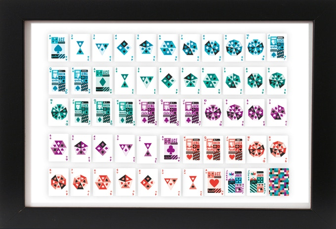Uncut Sheet (63.5 x 88.9mm) [Frame not included] Uncut sheets will be sent rolled up in a tube.