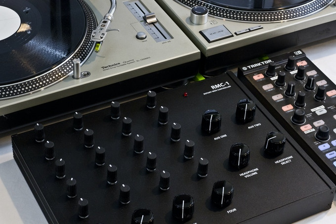 The RMC-1 can function as a traditional mixer, check out the dj mix below.