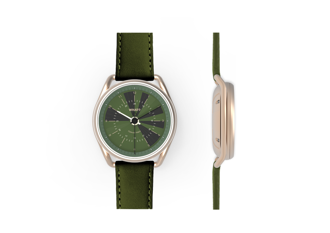 The new Verdant Green Calendar Watch