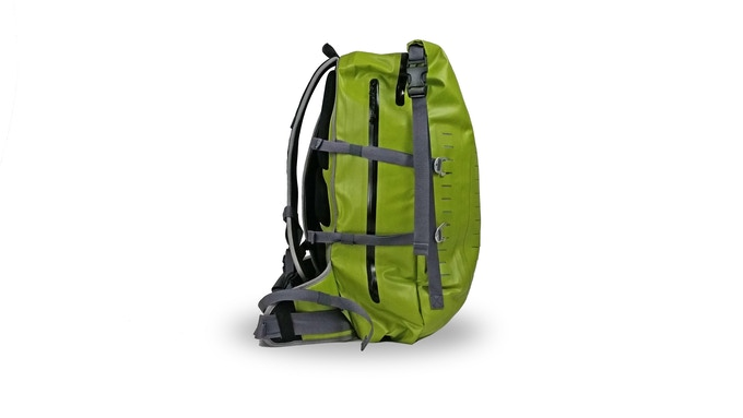 Modular compression straps for carrying multiple rod tubes