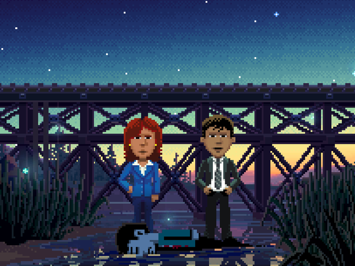Thimbleweed Park: A New Classic Point & Click Adventure! by Ron