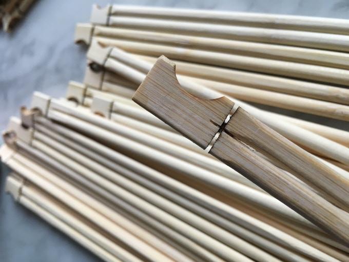 Cropsticks Bamboo Prototypes