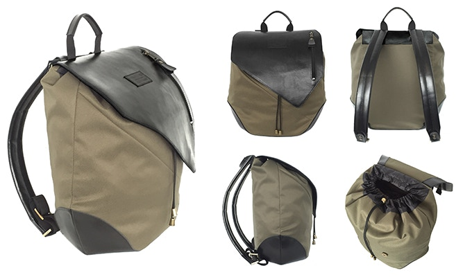The final version of The Calvin backpack