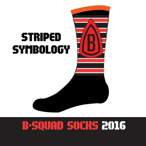 B-Squad 2016 Socks