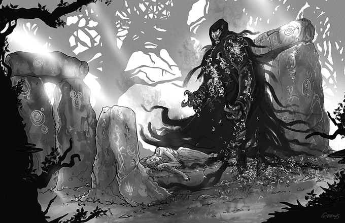 The Maggot Man--a New Corinth urban legend (Jon Gibbons)