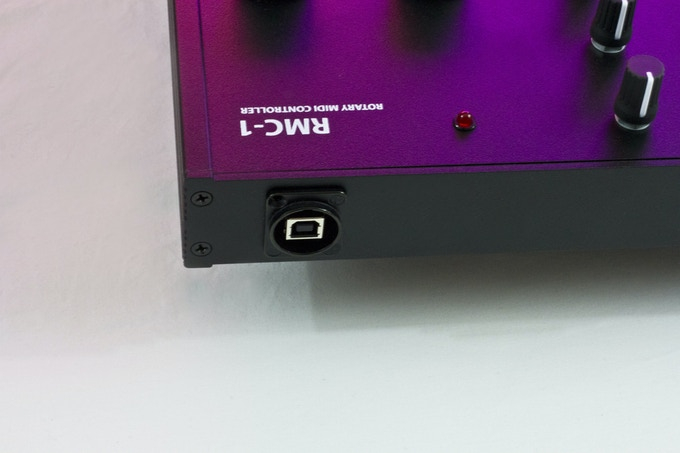 The RMC-1 is bus powered and functions via one USB jack.