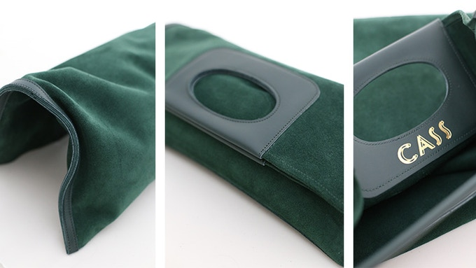 The Cass Clutch In Big Sur Green