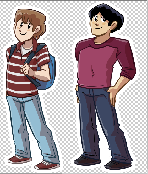 Ethan and Danny are now unlocked!