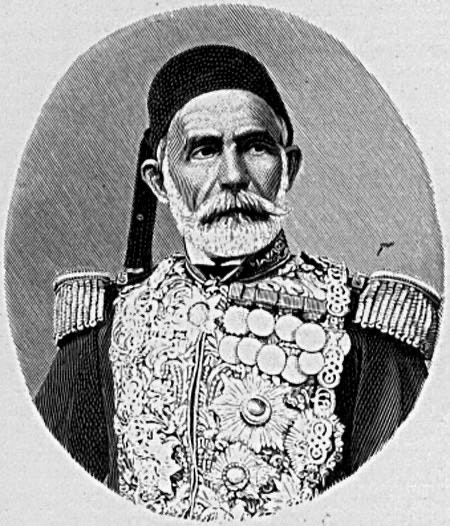 The leadership of Omar Pasha improved Omar El-Amins military skills even more.