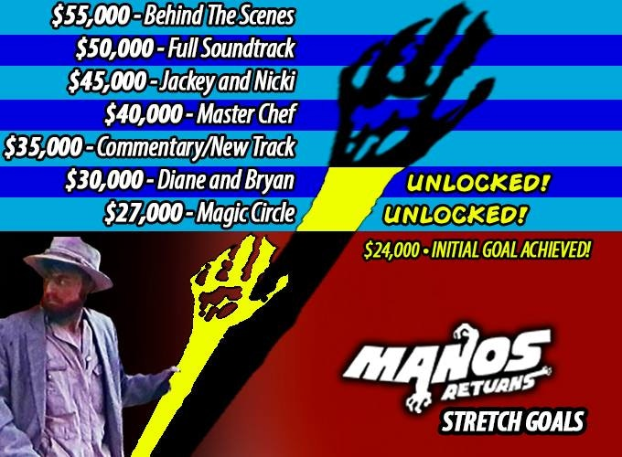 """The follow up film to the cult classic """"Manos: The Hands of Fate."""""""