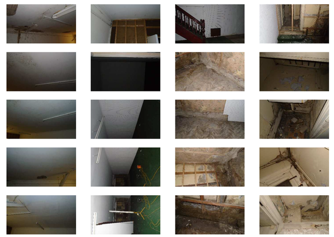 A few snaps of the basement. Shabby chic?