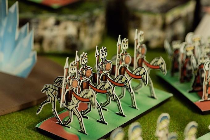 Mounted Skeleton Kings