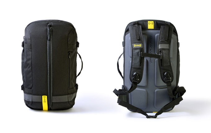 Sporty Yellow with grey back panel