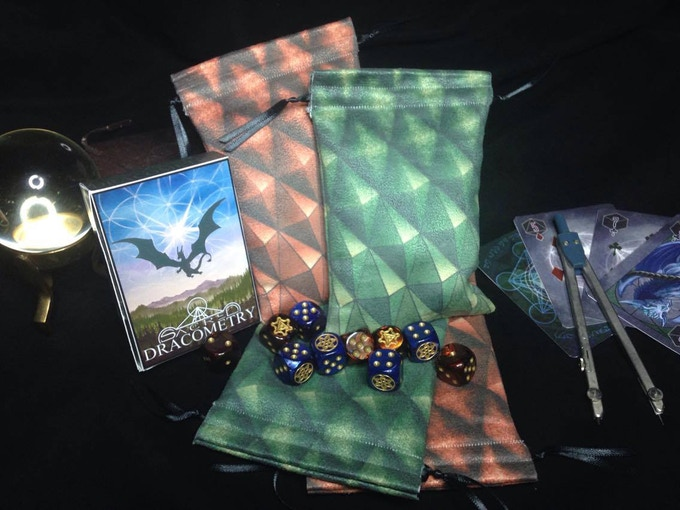 Beautiful deck pouches are available!